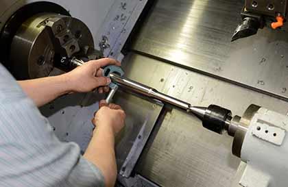 CNC Valve machining