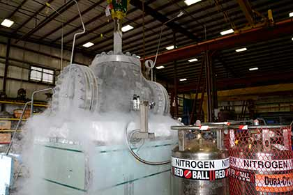 Cryogenic Valve Test